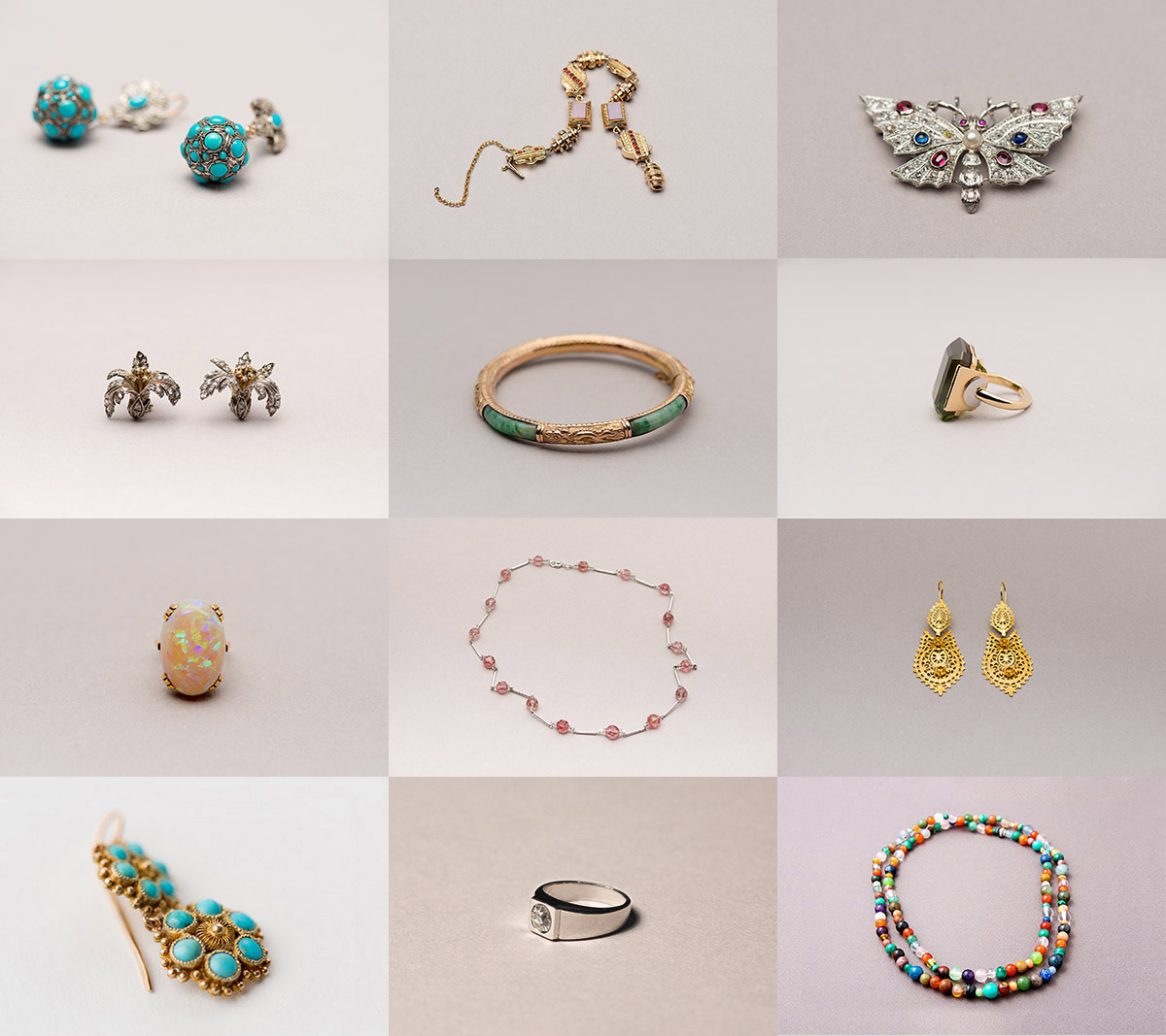 Catalogue de bijoux anciens par le photographe Arnaud Delon